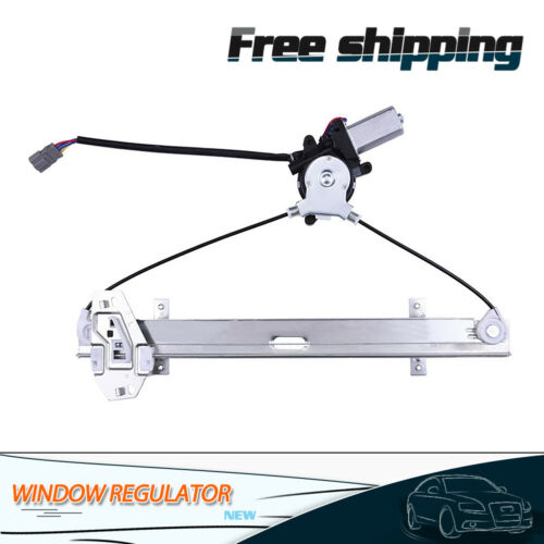 Power Window Regulator w//Motor Front Left Driver Side Fit For Honda Accord 98-02