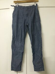 Levis-Made-Crafted-Chambray-Pant-Size-25