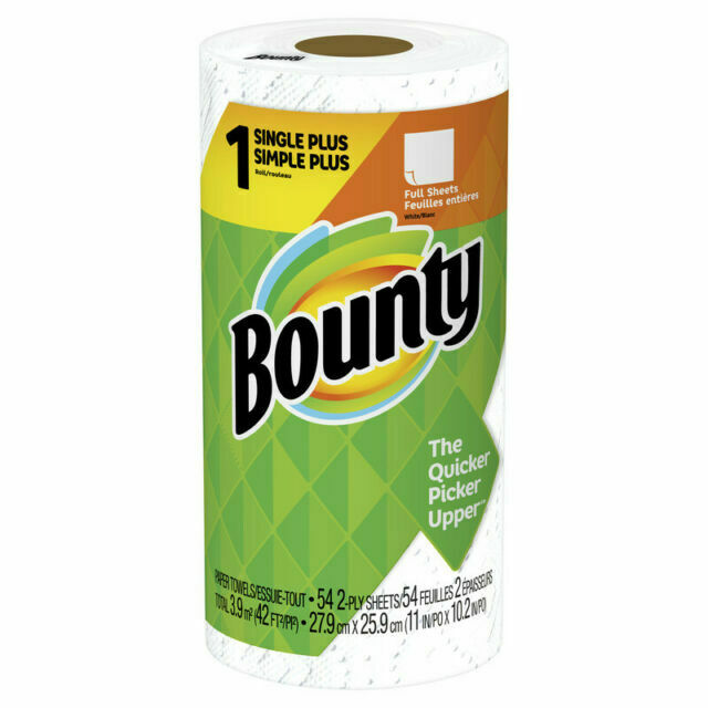 Bounty 47796 2-Ply Paper Towels - 54 Sheets