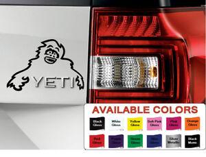 New Skoda Yeti Monster Yeti Vinyl Sticker Car Decal Skoda Yeti Fit All Models Ebay