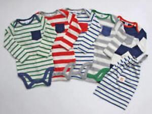 Ex Baby Boden Boys Stripe Bodysuits Vests Age 0 3 6 12 18 24 36 Months Ebay