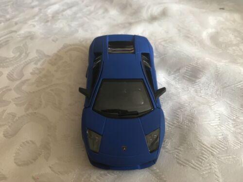Lamborghini Murcielago lp640 Super Sports Car Model Scale 1:38 Matt Blue
