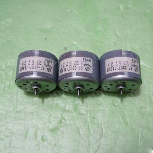 RF-330T-11360 Micro DC Motor 6V 6400RPM Mute 28mA Gleichstrom Motor for DIY Toy