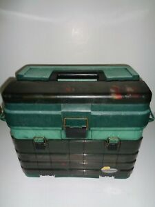 Plano Guide Series Tackle Box Full of New & Used Tackle