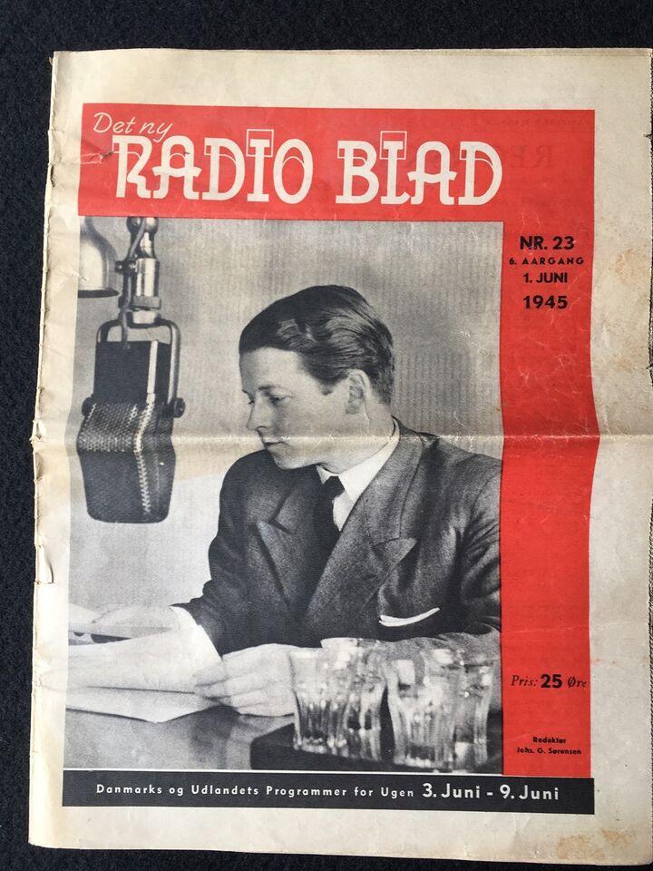 Det ny RADIO BLAD, Ludvig Brandstrup, Blad