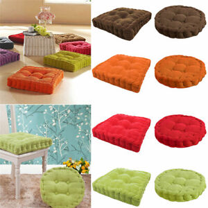 FJ-ROUND-SQUARE-THICK-CUSHION-PILLOW-CHAIR-SEAT-BEDROOM-DINING-ROOM-TATAMI-MAT