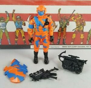 Original-1989-GI-JOE-ALLEY-VIPER-V1-ARAH-not-Complete-UNBROKEN-fig-Cobra-TIGHT