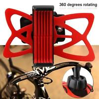 Universal Motorcycle Bike Bicycle Handlebar Mount Holder For Mobile Phone GPS F