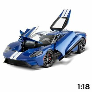 Véritable Maisto Exclusive Ford Gt Model Diecast Car 1:18 scale 35021492 90159381341