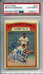 Brooks-Robinson-Autographed-1972-Topps-Card-PSA