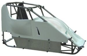 Details about NEW XXX RACE CO MICRO-SPRINT CHASSIS KIT B W/BODY & TIN