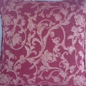 A-16-Inch-Cushion-Cover-In-Laura-Ashley-Chavalier-Raspberry-Fabric