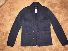NWT Polo Ralph Lauren Military Sweater Shawl Cardigan, Men's Size SMALL
