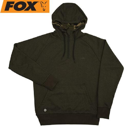 Anglerpullover Angelpullover Hoody Kapuzenpulli Fox Chunk Dark Olive Hoodie