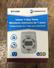 Intermatic DT122K 15-Amp Two-Outlet Heavy Duty Digital Indoor Timer BRAND NEW