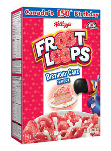 Froot Loops Birthday Cake Flavour