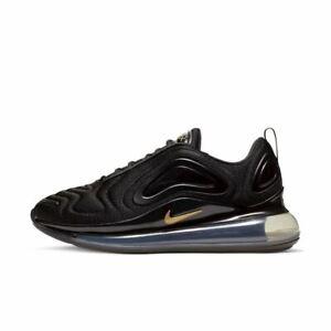 Nike-Air-Max-720-Noir-Dore-Metallise-CT2548-001-UK-9-9-5