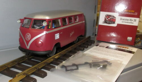 Brekina Spur G Draisine Klv 20 /_ VW Bus T1 mit Motor /_ Beilhack /_/_ NEU