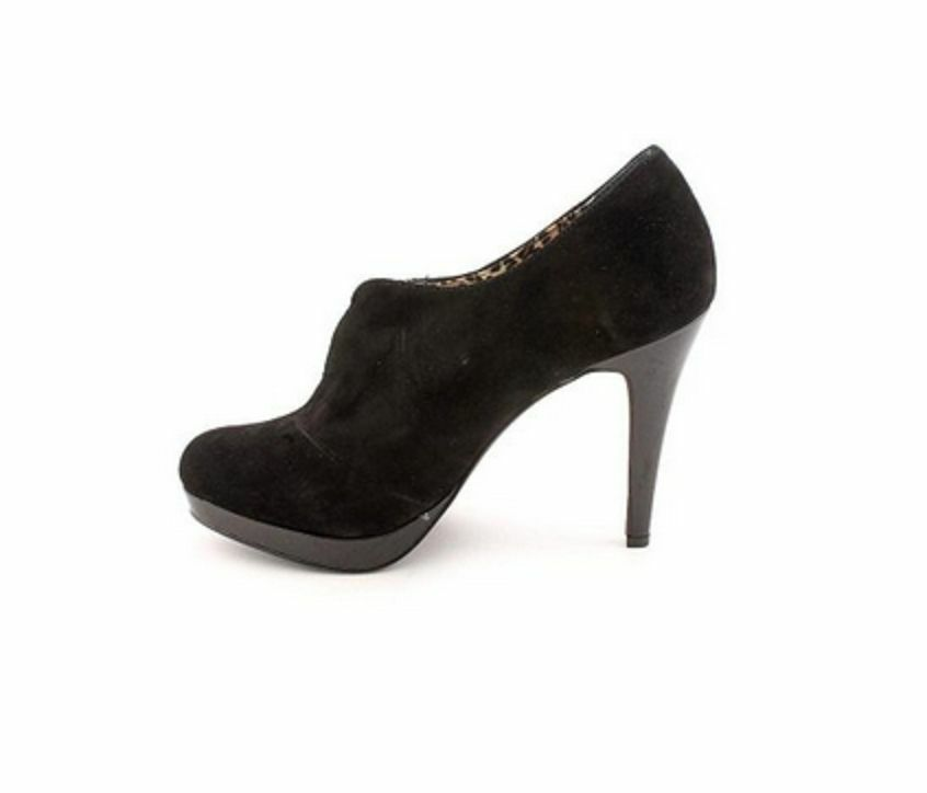 Style & Co Webb Womens Suede Booties shoes, Black, Size US 5.5 M