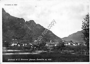 Cartolina-Postcard-Comalita-S-Giovanni-Bianco-Panorama-1954