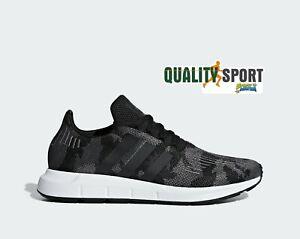 Chaussures Bd7977 Swift Sur Baskets Run Adidas Gris Militaire Détails 2019 Homme Sportif shQtCrd