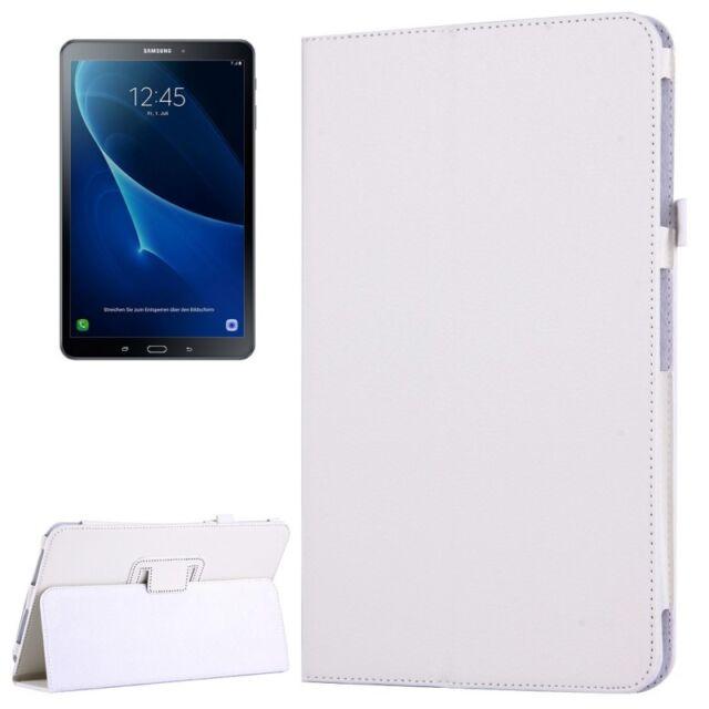 Funda Protectora Blanco para Samsung Galaxy Tab A 10.1 T580/T585 carcasa NUEVO