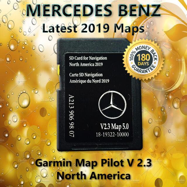 Navigation SD Card Garmin Map Pilot 2018 North America Mercedes-Benz A2189066002