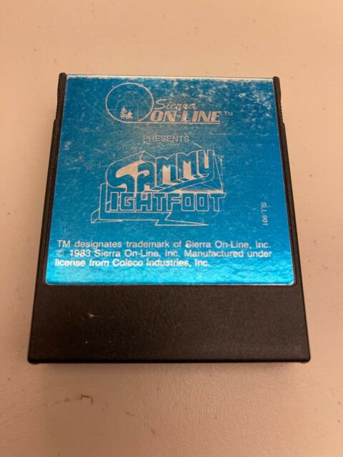 ColecoVision Sammy Lightfoot cartridge
