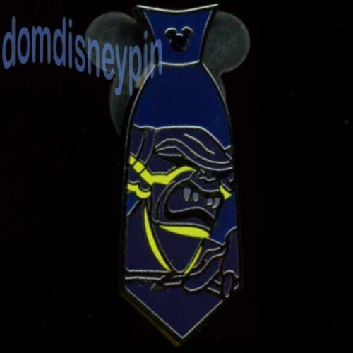 Disney Pin WDW 2015 Hidden Mickey Series *Villain Neckties* Chernabog Tie!