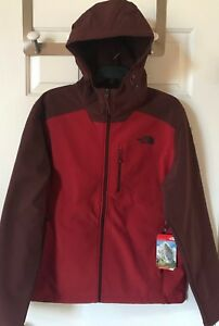 31637e907 Details about $170 NWT Mens The North Face Apex Bionic 2 Hoodie Full Zip  Jacket Cardinal Red