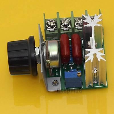 1000W Adjustable Voltage Regulator AC Motor Speed Control Controller 50-220V