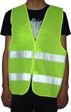 Nylon Réfléchissantes Gilet de Sécurité Veste Avertissemen p Police Jogging Moto