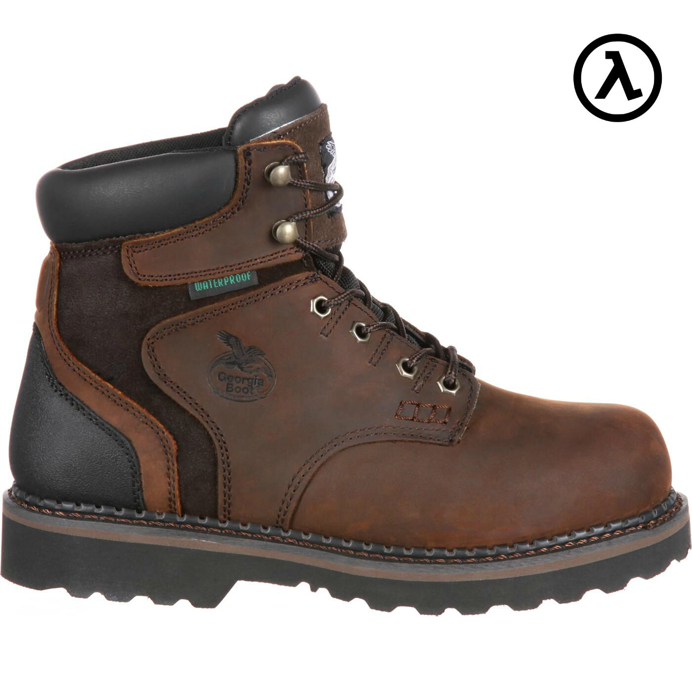 GEORGIA BROOKVILLE * WATERPROOF STEEL TOE WORK BOOTS G7334 * BROOKVILLE ALL SIZES - NEW c1e0f8