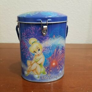 Walt Disney world Disneyland Resort Tinker Bell Tin Box Purse  Handle no lock