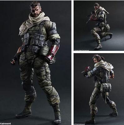 Play Arts Kai Metal Gear Solid V Action Figure The Phantom Pain Venom Snake