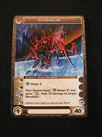 Chaotic Trading Card DASALIN Creature 19/100 MINT