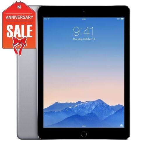 Grade B+ Apple iPad Air 1st Gen 16GB R-D 9.7in Space Gray Wi-Fi