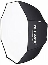 Neewer 47/120cm Speedlite octogonal, flash de estudio paraguas softbox del Speedlight,