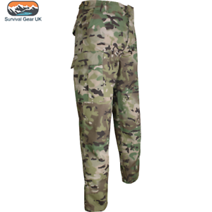 Viper Tactical BDU Trousers Airsoft Uniform Cargo Men's Combats VCam Waist 36