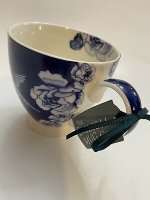 THE ENGLISH MUG CO FINE CHINA GARDEN BIRDS COFFEE TEA MUG NEW AUTHENTIC