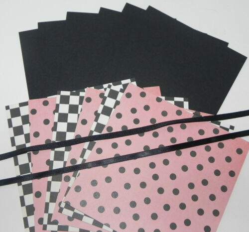 STAY SASSY 5 SETS 6 X 6 DOUBLE SIDED DESIGNER PAPER CARDSTOCK STAMPIN UP