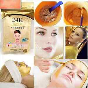 24K-GOLD-Anti-Aging-Active-Face-Mask-Powder-50g-Luxury-Spa-Treatment-New-FT