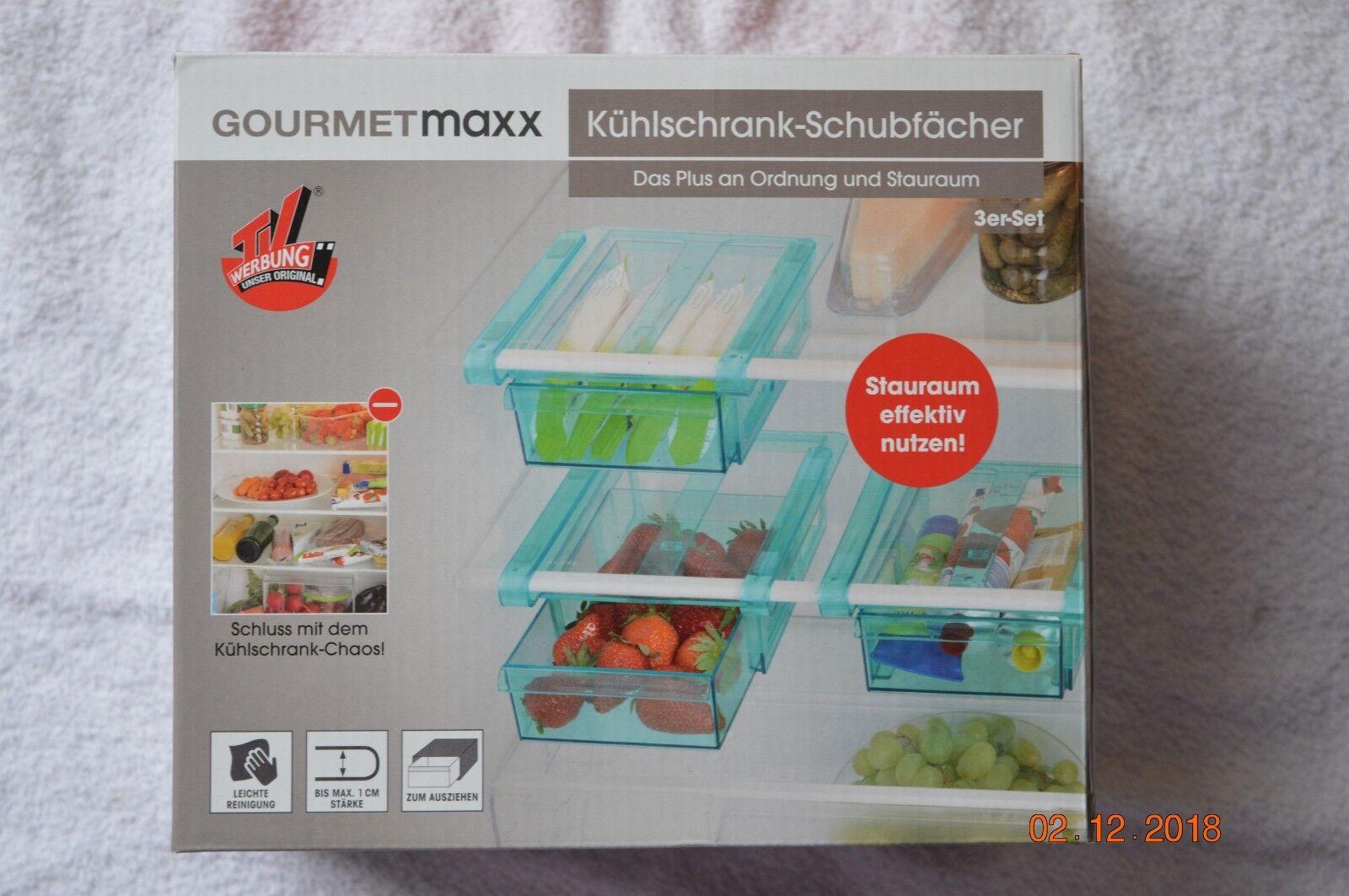 Kühlschrank Klemmschublade : Gourmetmaxx kühlschrank klemm schublade aufbewahrung ordnung ebay