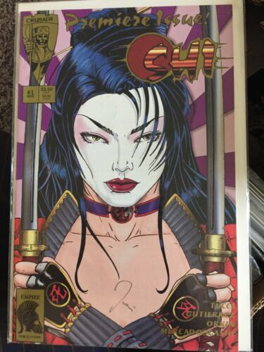 Shi The Way of The Warrior #1 SIGNED Crusade Comics 1994