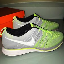 076751c28081d item 6 Nike Flyknit Trainer + Running Shoes Men s Size 13 Gray Volt  532984-714 -Nike Flyknit Trainer + Running Shoes Men s Size 13 Gray Volt  532984-714