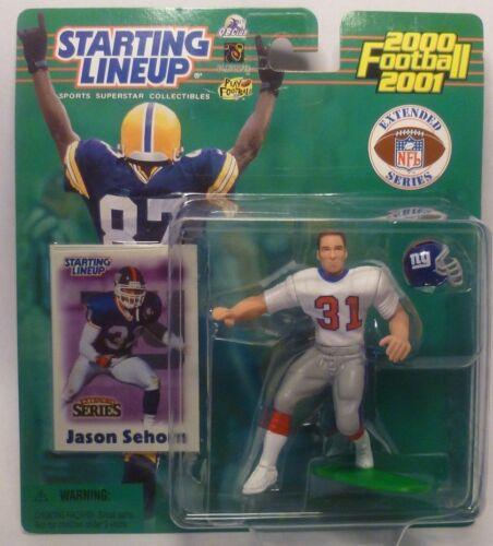 SLU New York Giants 2000  JASON SEHORN Sports Figurine Starting Lineup
