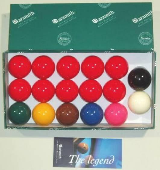 Aramith 4.4cm (4.44cm) Snooker Balles 17 Set  pour Utilisation A Domicile Table  livraison et retours gratuits