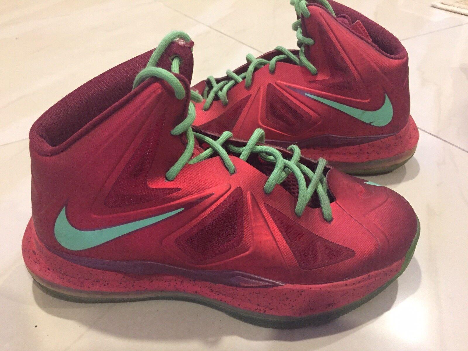 Nike Lebron X 10 RED CHRISTMAS Comfortable Cheap women's shoes women's shoes