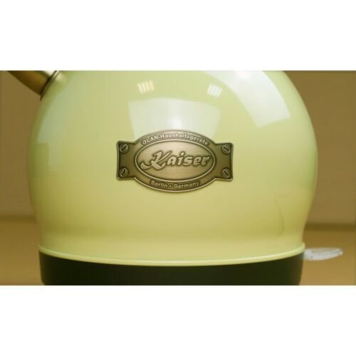 Kaiser Empire WK 2000 ElfEm Retro Wasserkocher Teekocher 2L Kontroll LED 1800W
