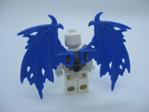Superheroes Angel Custom Armor /& TATTERED Bat WINGS for Custom Minifigures